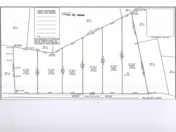 null bed null bath Vacant Land at 286 Keene Rd Acushnet, MA, 02743 is for sale at 150k - 1 of 4
