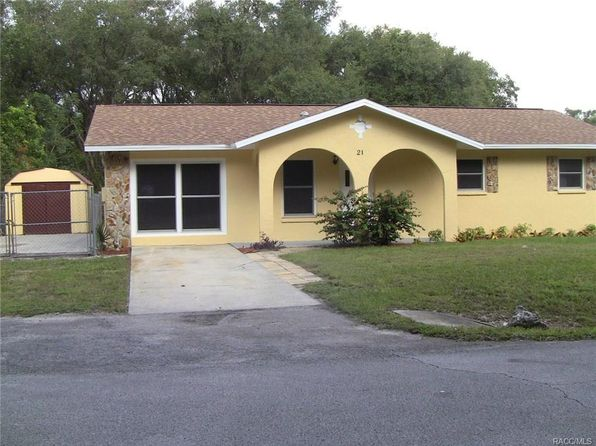 4 bed 2 bath Single Family at 21 N Richard Ter Inverness, FL, 34453 is for sale at 128k - 1 of 22