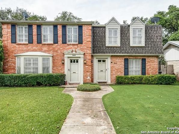 5 bed 6 bath Multi Family at 342 & 346 E Terra Alta Dr San Antonio, TX, 78209 is for sale at 590k - 1 of 25