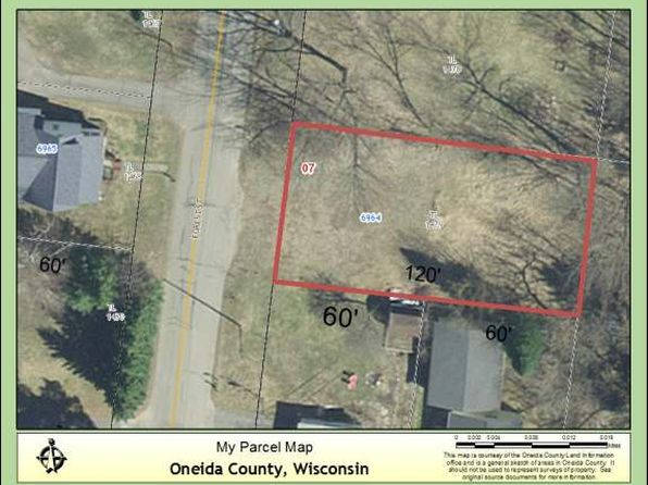 null bed null bath Vacant Land at NEAR6960 Forest St Three Lakes, WI, 54562 is for sale at 15k - google static map
