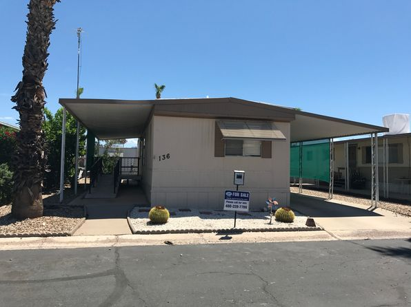 2 bed 2 bath Mobile / Manufactured at 202 N Meridian Rd Apache Junction, AZ, 85120 is for sale at 13k - 1 of 13