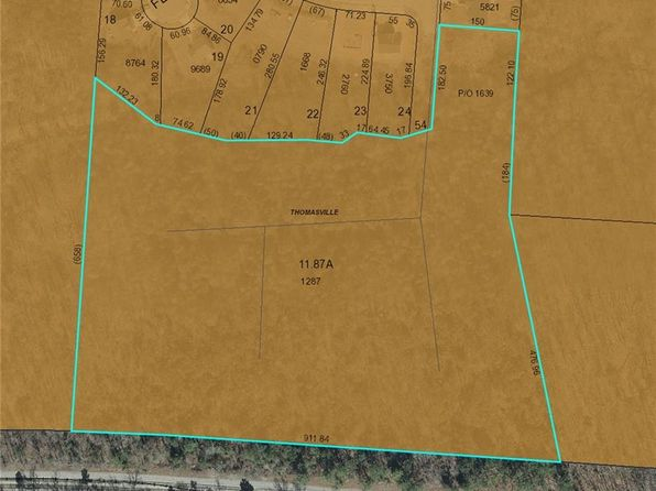 null bed null bath Vacant Land at 0 Coral Ln Thomasville, NC, 27360 is for sale at 85k - google static map