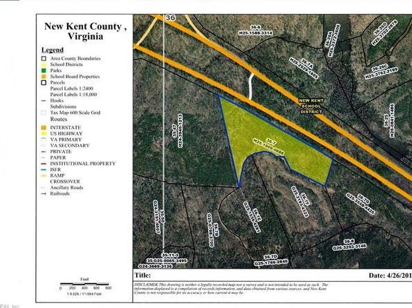 null bed null bath Vacant Land at  Wilkes Rd New Kent County, VA, 23089 is for sale at 100k - google static map