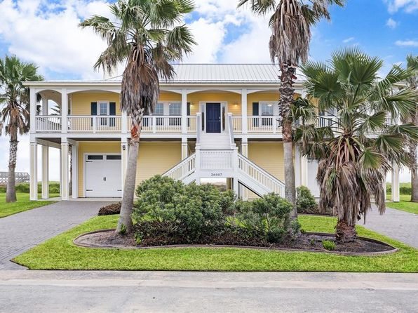 5 bed 3 bath Single Family at 26007 Flamingo Dr Galveston, TX, 77554 is for sale at 965k - 1 of 32