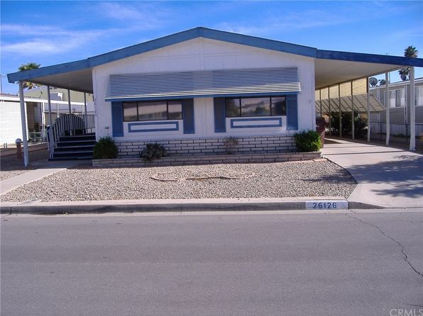 2 bed 2 bath Mobile / Manufactured at 26126 Butterfly Palm Dr Homeland, CA, 92548 is for sale at 125k - 1 of 15