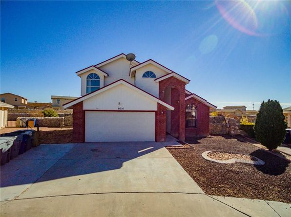 3 bed 2 bath Single Family at 6616 STAR OF INDIA LN EL PASO, TX, 79924 is for sale at 125k - 1 of 28
