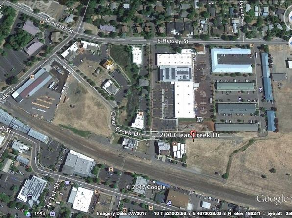 null bed null bath Vacant Land at 196 Clear Creek Dr Ashland, OR, 97520 is for sale at 212k - google static map