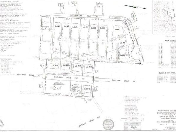 null bed null bath Vacant Land at  Lot # 8 Willowbrooke Upper St. Clair, PA, 15241 is for sale at 175k - google static map