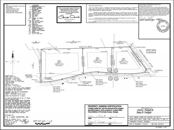 null bed null bath Vacant Land at 00 Owens Store Rd Canton, GA, 30115 is for sale at 139k - google static map