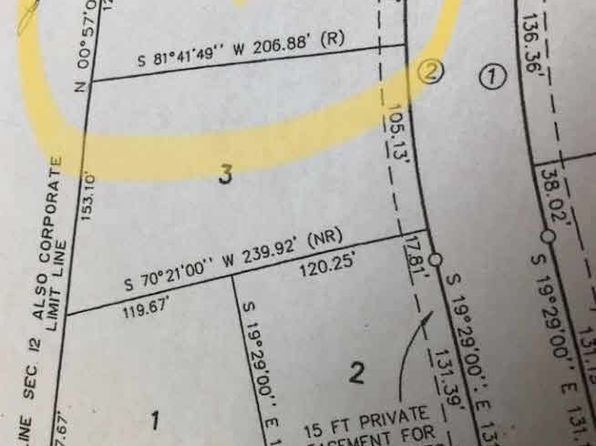 null bed null bath Vacant Land at 4 Concord Dr Deerfield, MI, 49238 is for sale at 16k - 1 of 3