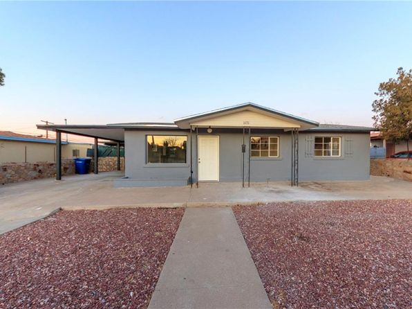 4 bed 2 bath Single Family at 1131 BELEN RD EL PASO, TX, 79915 is for sale at 112k - 1 of 23