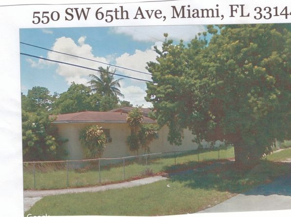 4 bed 3 bath Single Family at 550 SW 65th Ave Miami, FL, 33144 is for sale at 300k - 1 of 7