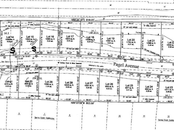 null bed null bath Vacant Land at 413 Pagel Ave Brillion, WI, 54110 is for sale at 20k - google static map