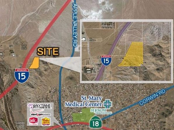 null bed null bath Vacant Land at  Outer Interstate 15 Hwy Victorville, CA, 92395 is for sale at 636k - 1 of 4