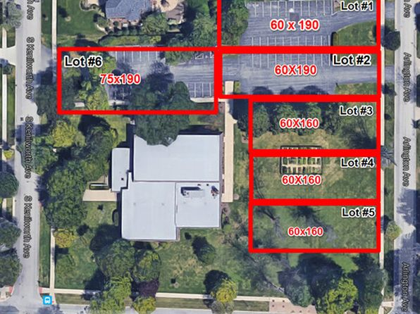 null bed null bath Vacant Land at  Lot # 5 Arlington Ave Elmhurst, IL, 60126 is for sale at 475k - google static map