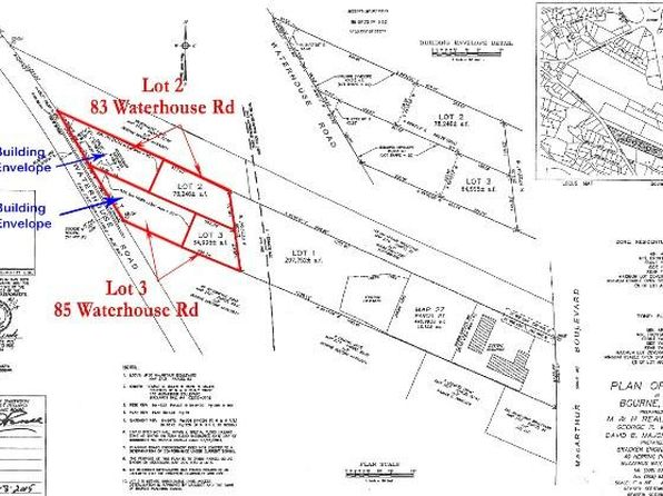 null bed null bath Vacant Land at 83 Macarthur Blvd Buzzards Bay, MA, 02532 is for sale at 119k - google static map
