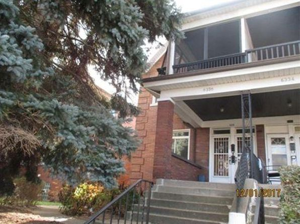 6 bed 3 bath Multi Family at 6336 Aurelia St Pittsburgh, PA, 15206 is for sale at 490k - google static map