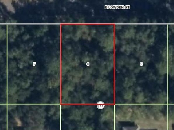 null bed null bath Vacant Land at 6414 E LOWDEN ST INVERNESS, FL, 34452 is for sale at 4k - google static map