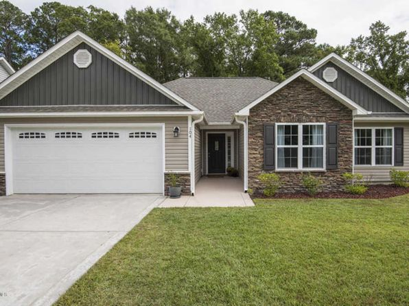 3 bed 2 bath Single Family at 104 Patriot Ct Havelock, NC, 28532 is for sale at 165k - 1 of 36