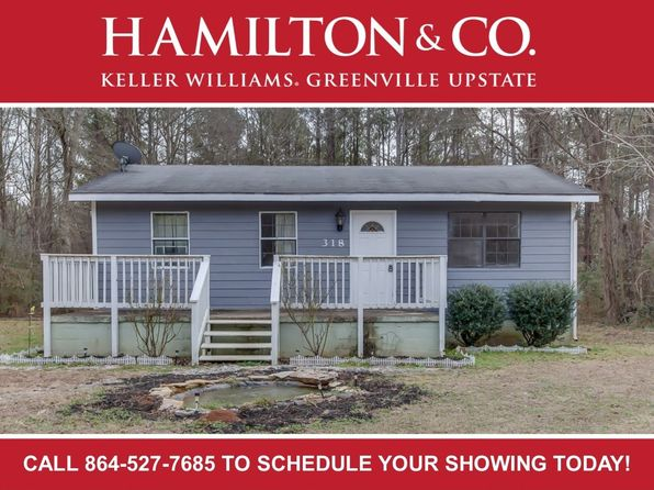 3 bed 1 bath Single Family at 318 Bryson Rd Fountain Inn, SC, 29644 is for sale at 85k - 1 of 18