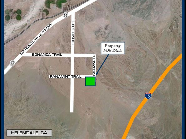 null bed null bath Vacant Land at  Panamint Trail Helendale, CA, 92342 is for sale at 34k - 1 of 8