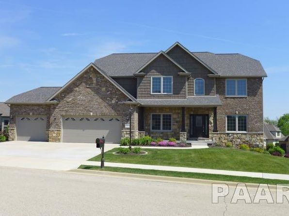 5 bed 5 bath Single Family at 3505 W Oak Creek Ct Dunlap, IL, 61525 is for sale at 450k - 1 of 36