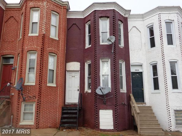 3 bed 1 bath Townhouse at 2828 Frederick Ave Baltimore, MD, 21223 is for sale at 15k - google static map
