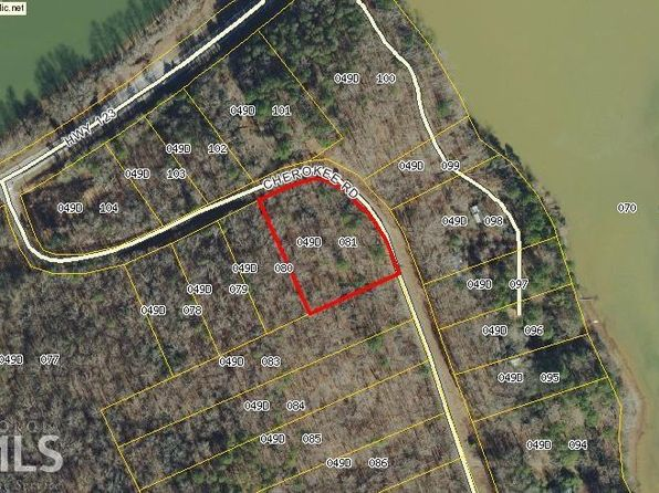 null bed null bath Vacant Land at  Lots 14/15 Cherokee Rd Toccoa, GA, 30577 is for sale at 18k - google static map
