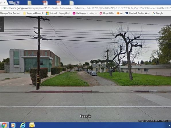 null bed null bath Vacant Land at 4526 Santa Anita Ave El Monte, CA, 91731 is for sale at 1.13m - google static map