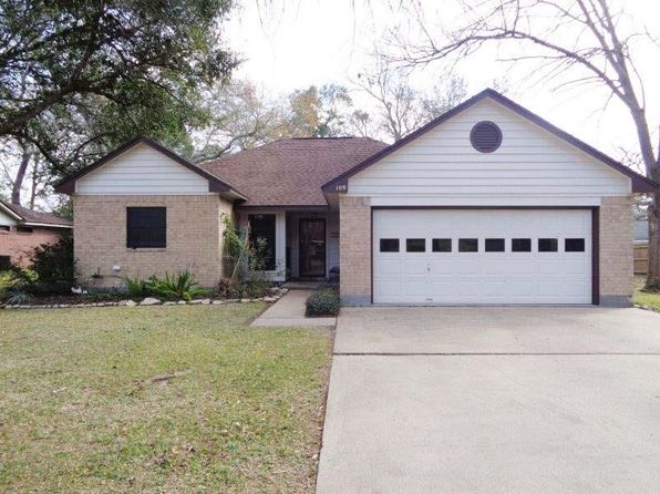 3 bed 2 bath Single Family at 109 Mesquite St Lake Jackson, TX, 77566 is for sale at 195k - 1 of 13