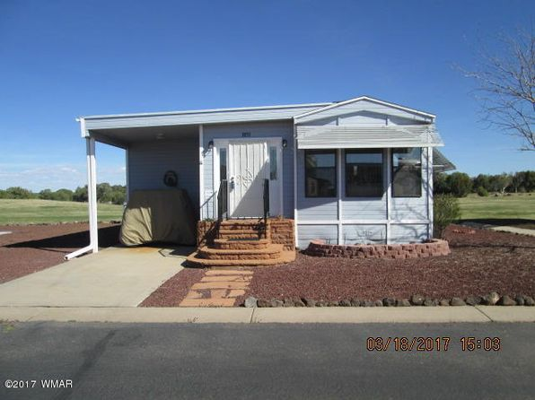1 bed 1 bath Single Family at 1851 Fairway Run Show Low, AZ, 85901 is for sale at 125k - 1 of 10