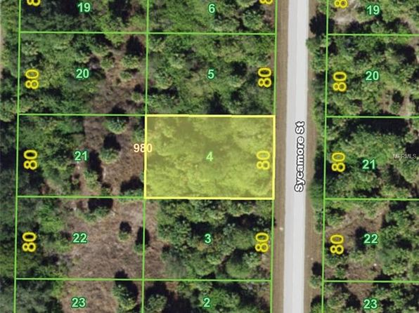 null bed null bath Vacant Land at 461 Sycamore (Lot 4) St Port Charlotte, FL, 33954 is for sale at 4k - 1 of 3