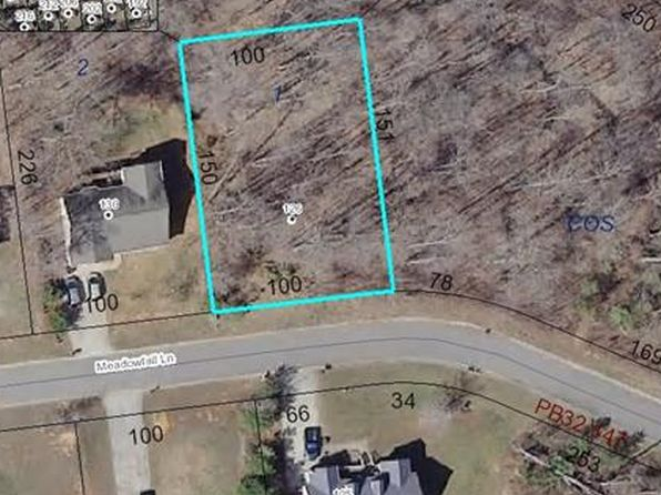 null bed null bath Vacant Land at 126 Meadowfall Ln Troutman, NC, 28166 is for sale at 15k - google static map