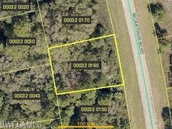 null bed null bath Vacant Land at 166 MCARTHUR BLVD LEHIGH ACRES, FL, 33974 is for sale at 5k - google static map