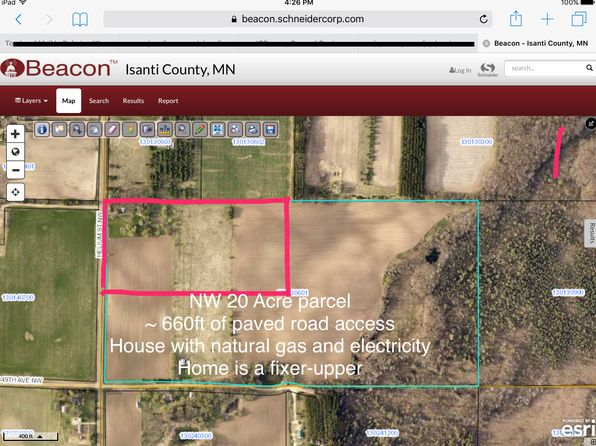 3 bed 1 bath Single Family at 35085 Helium St NW Princeton, MN, 55371 is for sale at 140k - google static map