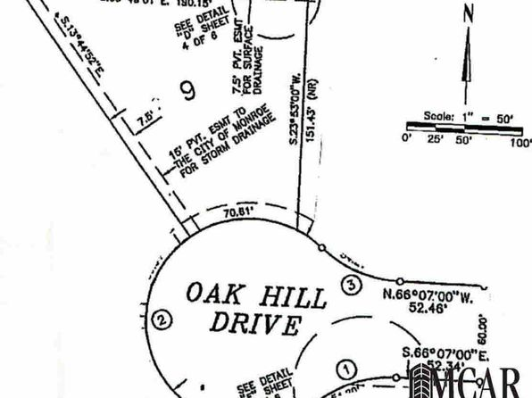 null bed null bath Vacant Land at 607 Oakhill Ct Monroe, MI, 48162 is for sale at 30k - 1 of 3