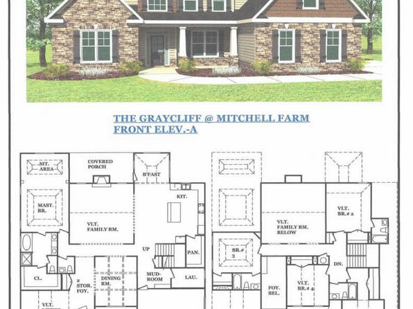 4 bed 4.5 bath Single Family at 21 Mitchell Farm Dr Sharpsburg, GA, 30277 is for sale at 387k - google static map