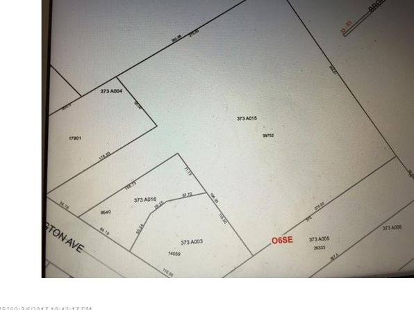 null bed null bath Vacant Land at 1651 Washington Ave Portland, ME, 04103 is for sale at 325k - google static map