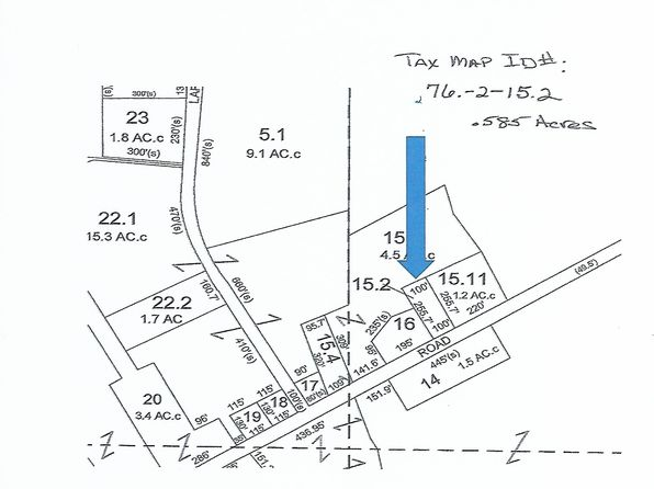 null bed null bath Vacant Land at 1810 MINER FARM RD CHAZY, NY, 12921 is for sale at 15k - google static map