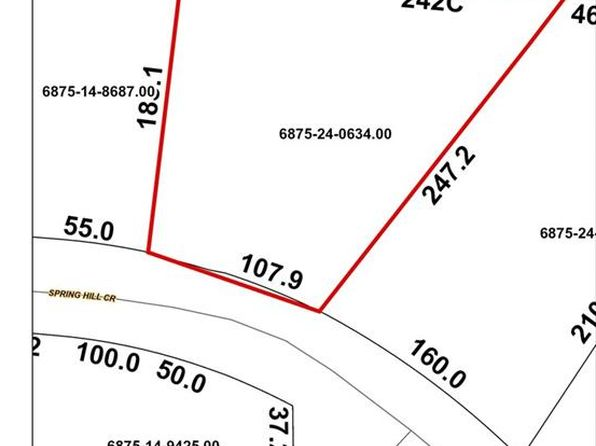 null bed null bath Vacant Land at 1435 SPRING HILL CIR KERNERSVILLE, NC, 27284 is for sale at 9k - google static map