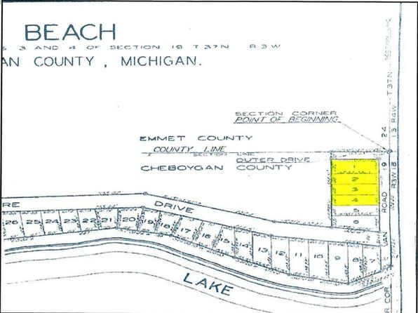 null bed null bath Vacant Land at  Van Rd Levering, MI, 49755 is for sale at 25k - google static map