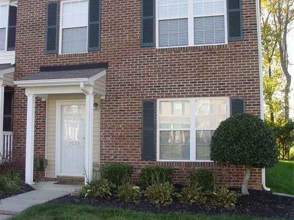 3 bed 3 bath Townhouse at 2035 Waterstone Ln High Point, NC, 27265 is for sale at 106k - 1 of 21