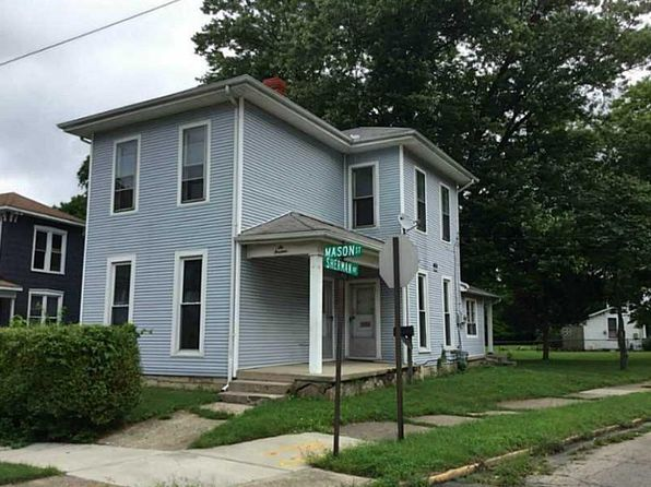 4 bed 2 bath Single Family at 614 Mason St Springfield, OH, 45503 is for sale at 40k - google static map