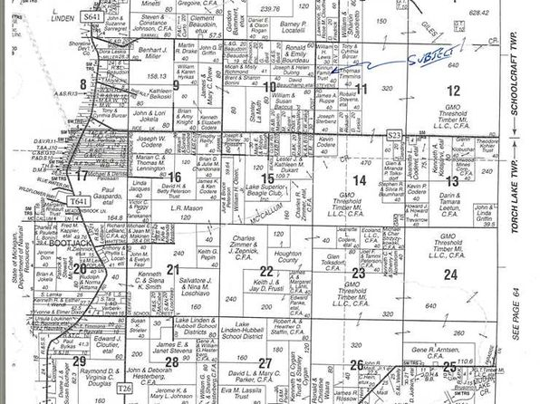 null bed null bath Vacant Land at  Post Rd Lake Linden, MI, 49945 is for sale at 60k - google static map