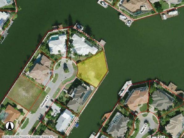 null bed null bath Vacant Land at 181 CHANNEL CT MARCO ISLAND, FL, 34145 is for sale at 1.30m - google static map