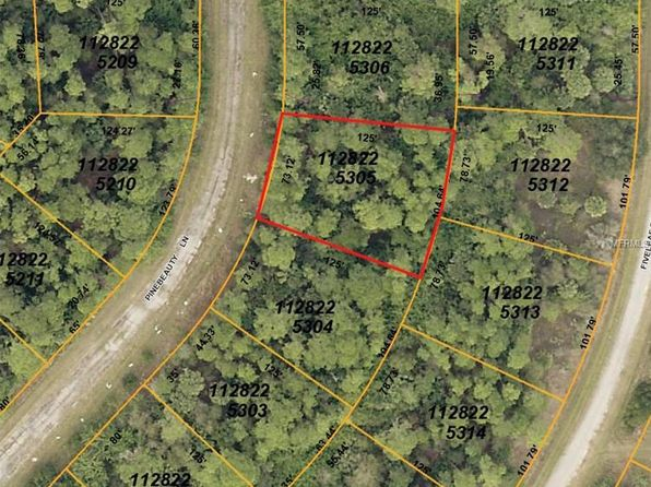 null bed null bath Vacant Land at  PINEBEAUTY LN NORTH PORT, FL, 34288 is for sale at 2k - google static map