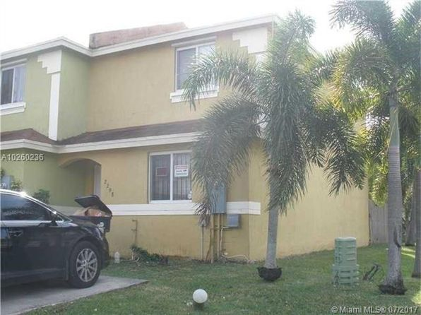 3 bed 2 bath Townhouse at 2298 NW 136th Ter Opa Locka, FL, 33054 is for sale at 158k - 1 of 3