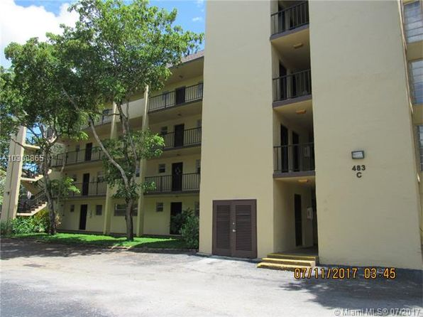 1 bed 1 bath Condo at 483 N Pine Island Rd Plantation, FL, 33324 is for sale at 97k - 1 of 24