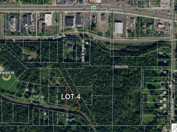 null bed null bath Vacant Land at  Lots 4 Orange St Duluth, MN, 55811 is for sale at 3k - google static map