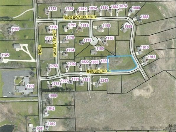 null bed null bath Vacant Land at  Tbd E Boulder Dr Warsaw, IN, 46582 is for sale at 42k - google static map